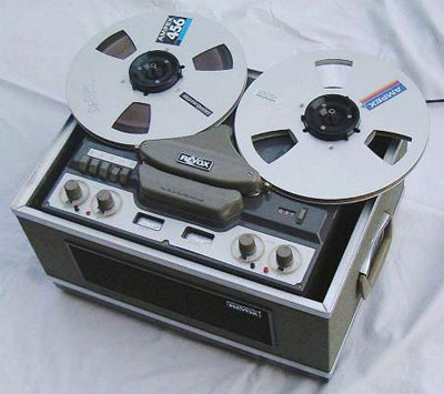 Revox G36 Tape Recorder (origin of image unknown)